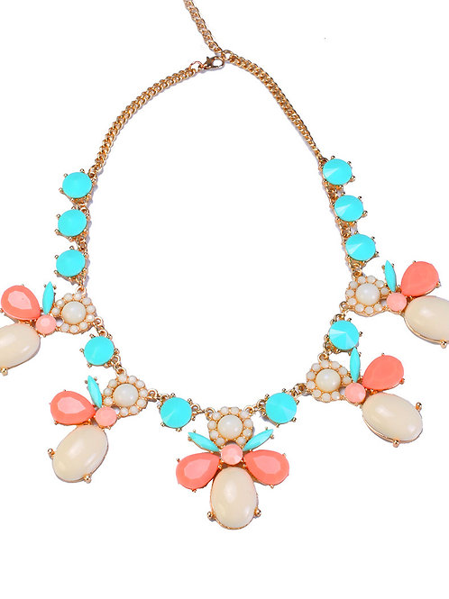 PASTEL STONES NECKLACE