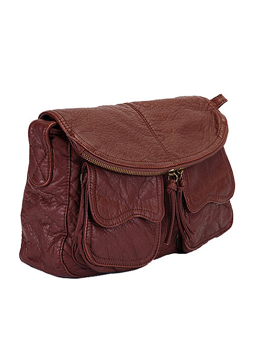 DOUBLE FRONT POCKET BAG