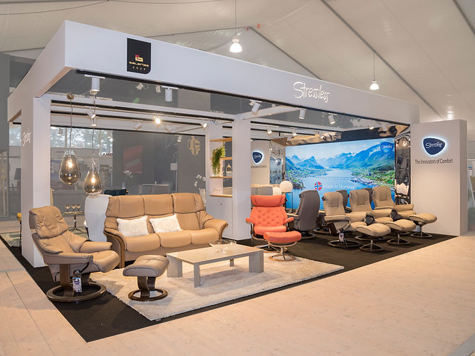 Stressless Stand _ Dezain Architects by