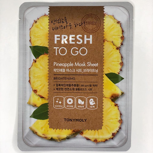 TOny Moly Freash to go Pineapple Mask