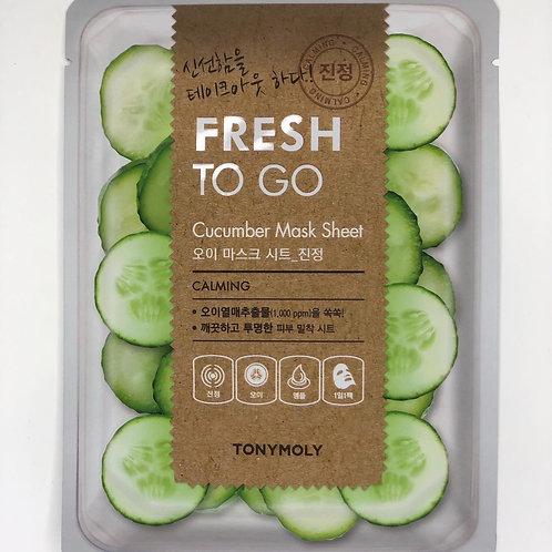 Tony Moly Fresh to go Cucumber Mask
