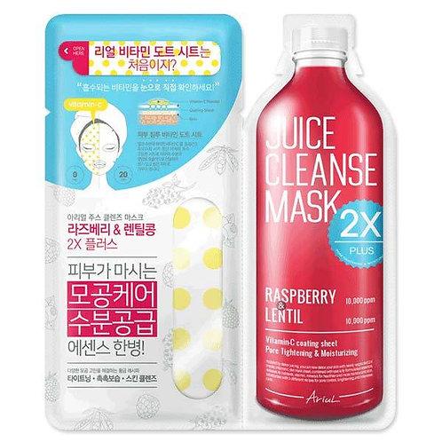 Ariul Juice Cleanse mask Raspberry and Lentil