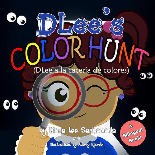 DLee's Color Hunt- Bilingual Version