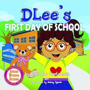 Childrens book, school, teach, kids, learning, DLee's World, DLee, Diana Santamaria