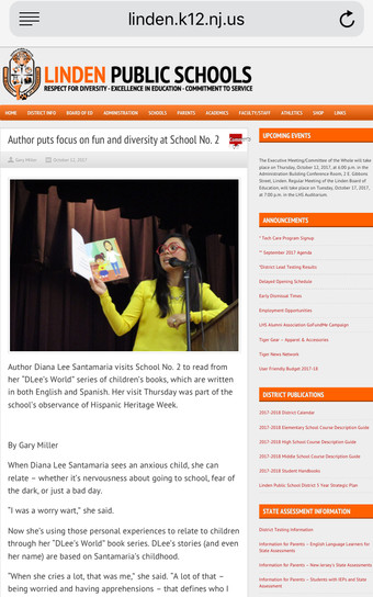 Linden Public Schools Newspaper