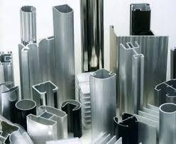 Profils aluminium extrudés  6061-T6 anodisés