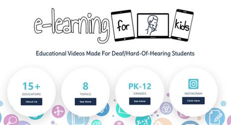 e-Learning for Deaf Kids