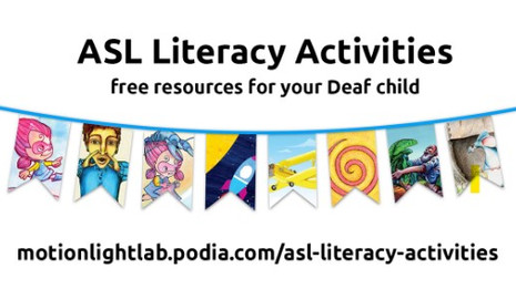 ASL Literacy Activities