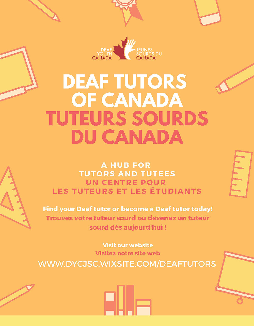 Deaf tutors of Canada - A hub for Tutors and Tutees. Find your Deaf tutor or be come a Deaf tutor today!