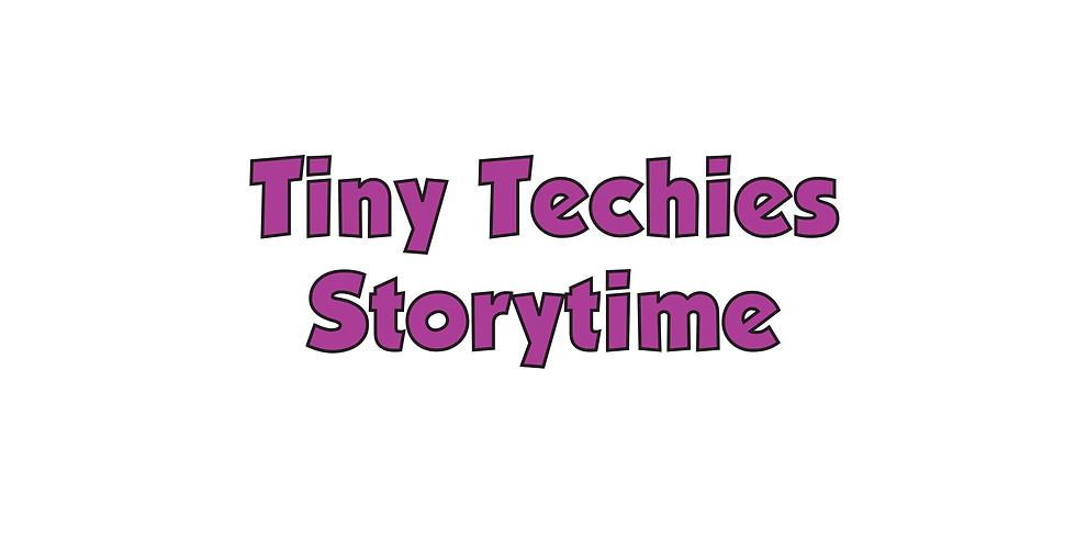 CANCELED - Tiny Techies Storytime