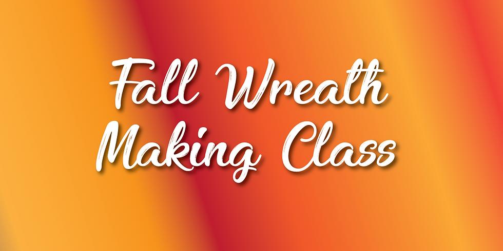 Fall Wreath Making Class