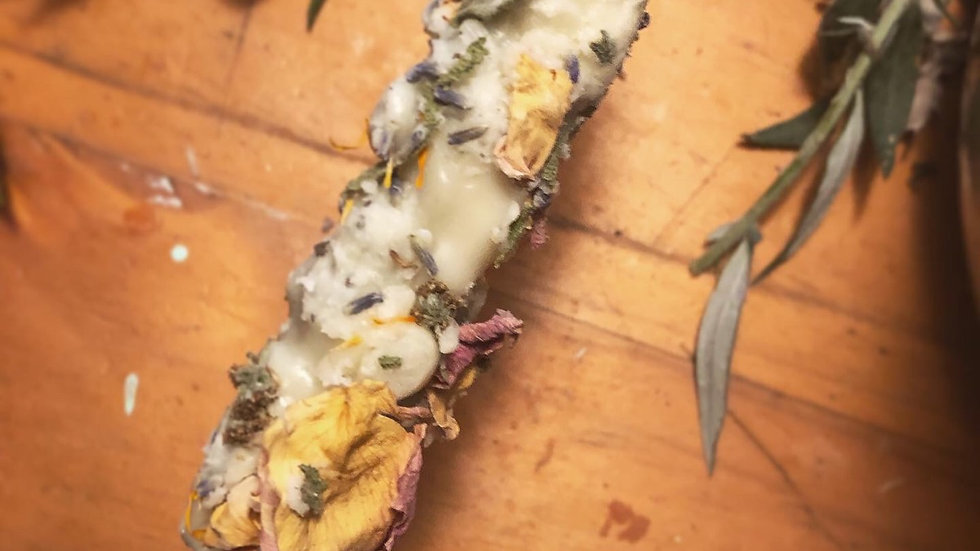 Wild Witch Mullein Candle