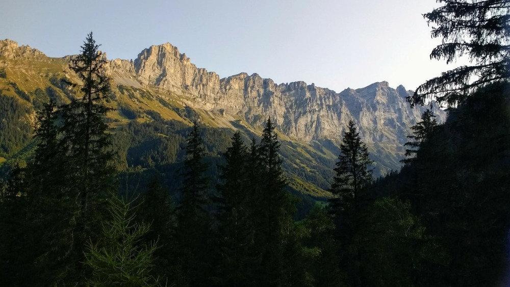 Gadmen valley and Tällistock mountain