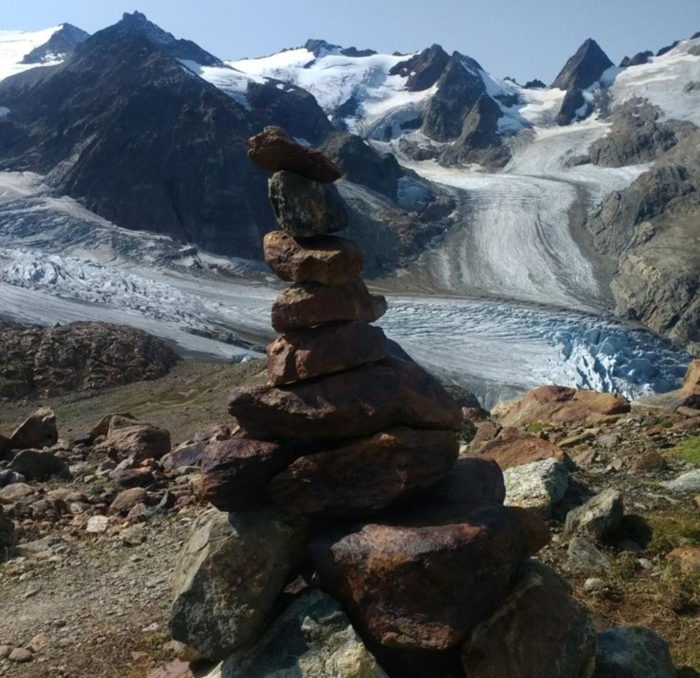 glaciers at Trifthütte