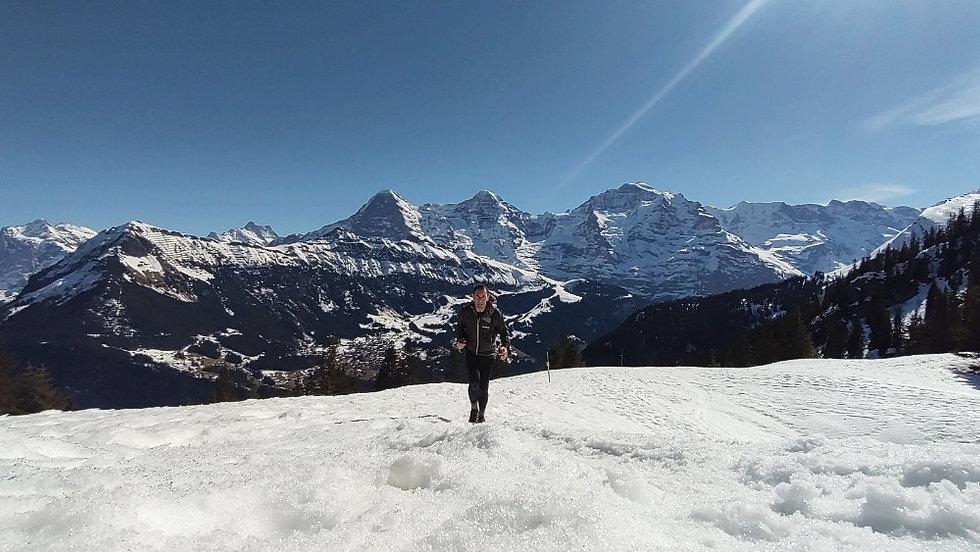 Winter run to the Lobhornhütte
