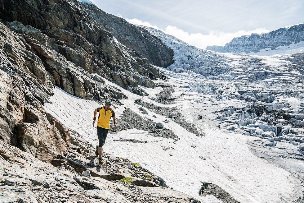Beesibärgli glacier run