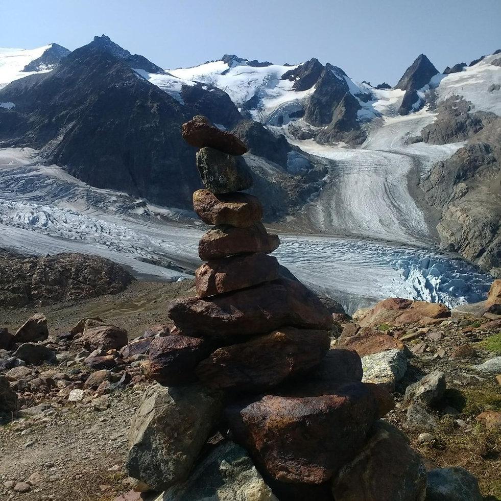 Upper Trift glacier