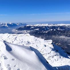 Faulhorn winter wonderland
