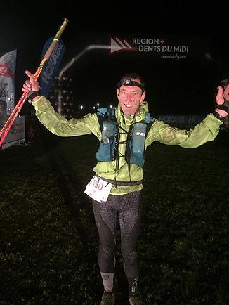 TrailPetsch finisher in the Swiss Peaks 360km 2018