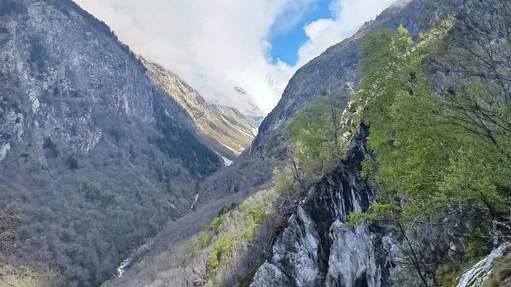 Baltschiedertal view from Gorperi Bisse