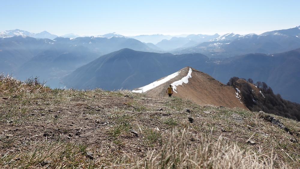 Trail running at Monte Boglia!