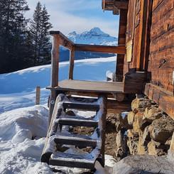 Alpine hut in Grindelwald