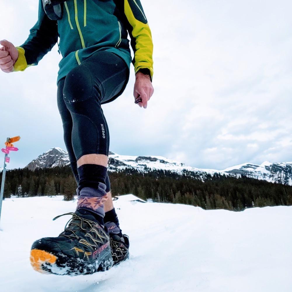 La Sportiva Akyra GTX  on the winter of Switzerland