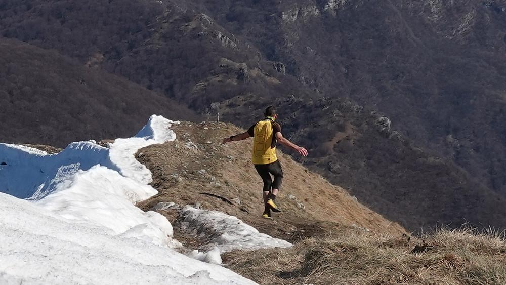 ridge running by TrailPetsch on the Sentiero Lago di Lugano