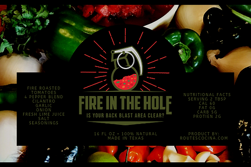 "Mick's Original ""Fire in the Hole"" Salsa"