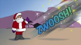 Santa Gives Jingles the Job