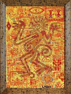 """""""Обезьяна майя"""", см. техн. 2009 г."""