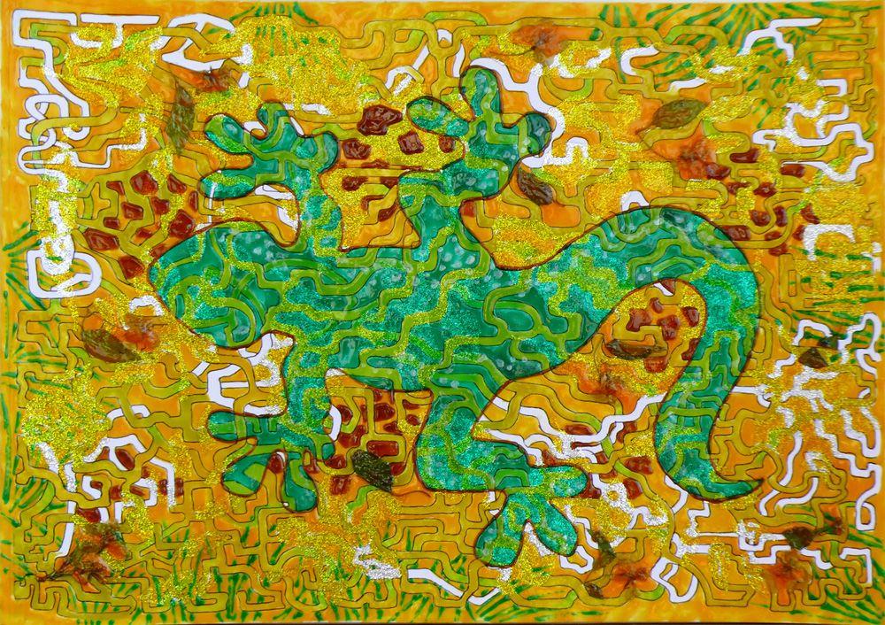 """""""Африканская саламандра"""", 2009 г."""