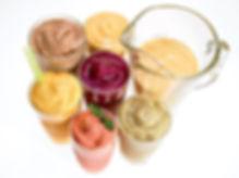 Smoothies form organics fruits and veggi