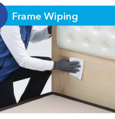 Frame wiping