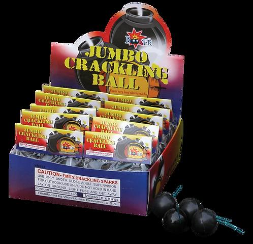 Jumbo Crackling Balls (4 pieces)