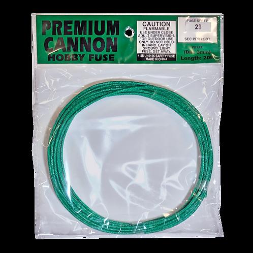 Premium Cannon Fuse (3mm) 25 sec/ft (1 roll)