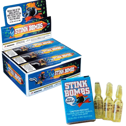 Stink Bombs (3 pieces)