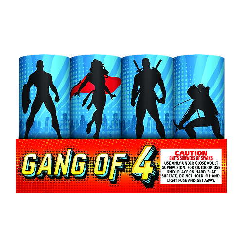 Gang of 4 (Set of 4)