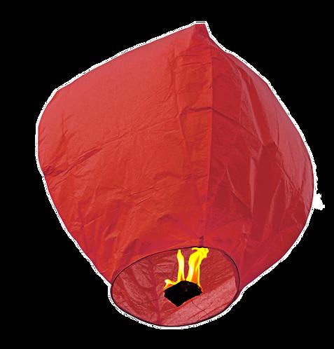 Sky Lantern Red
