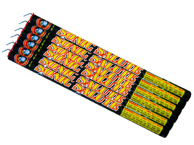 Sonic Salute Roman Candle (6 pack)