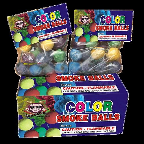 Clay Smoke Balls (12 pieces)
