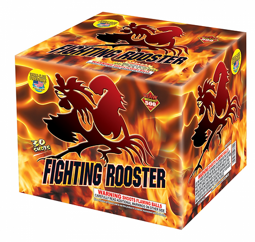 Fighting Rooster (30 shots)