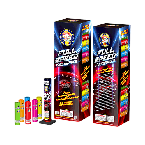 """Full Speed 7"""" Canisters"""