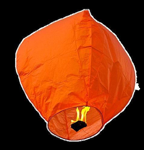 Sky Lantern Orange