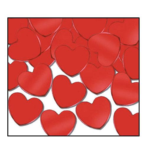 """Red Hearts Confetti Cannon (14.75"""")"""