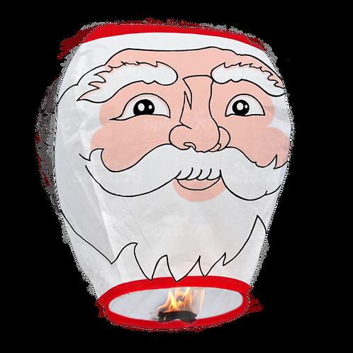 Sky Lantern Santa