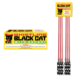 Black Cat Whistling Bottle Rockets