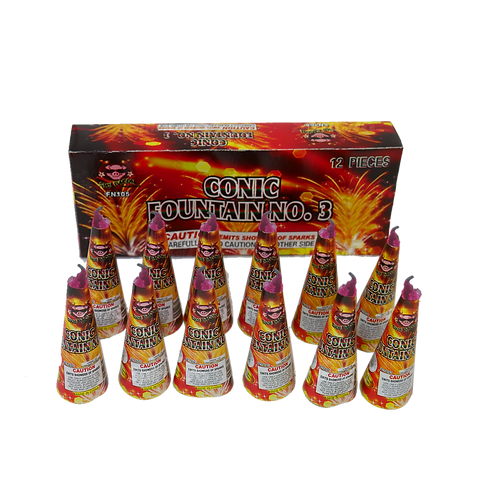 Conic Cones (12 pack)