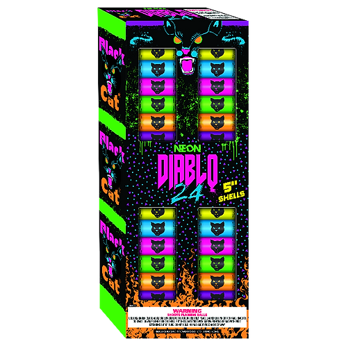 """5"""" Neon Diablo Canisters (24 pack)"""