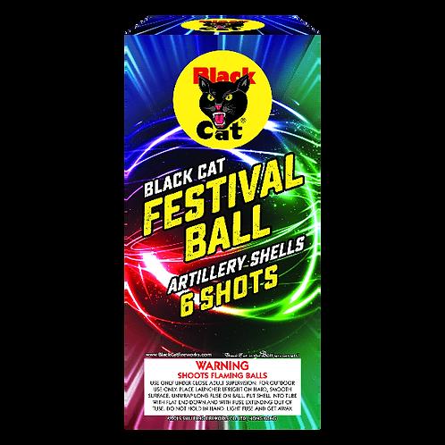 Festival Balls - Black Cat